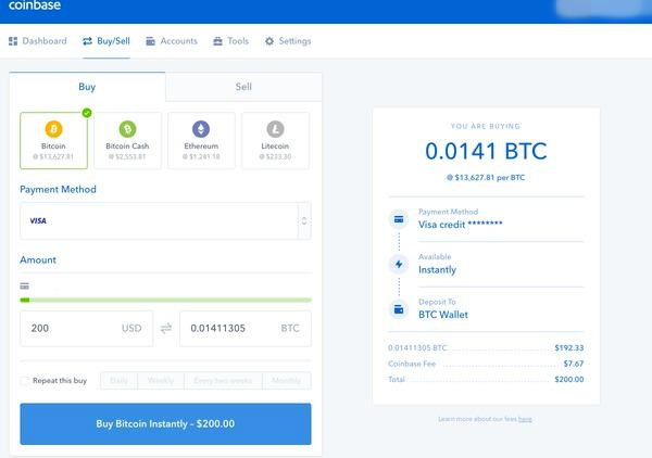 can you exchange cryptocurrency on coinbase