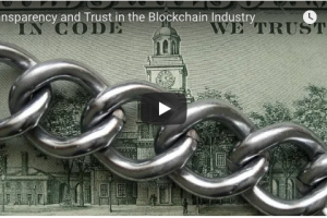 Transparency and Trust in the Blockchain Industry
