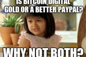 Should Investors View Bitcoin as Digital Gold or a Better PayPal?