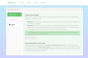 Create Account Keypair