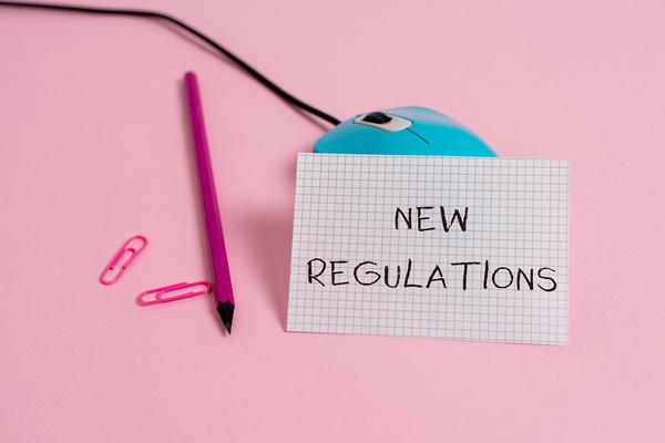 New regulations