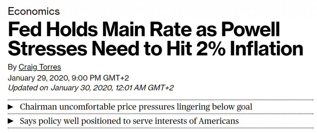 Fed holds main rate