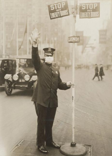Policeman liberty bonds