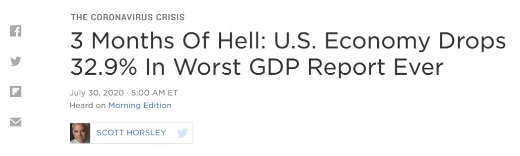 US economy article