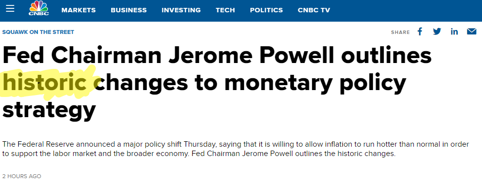 Jerome powell article