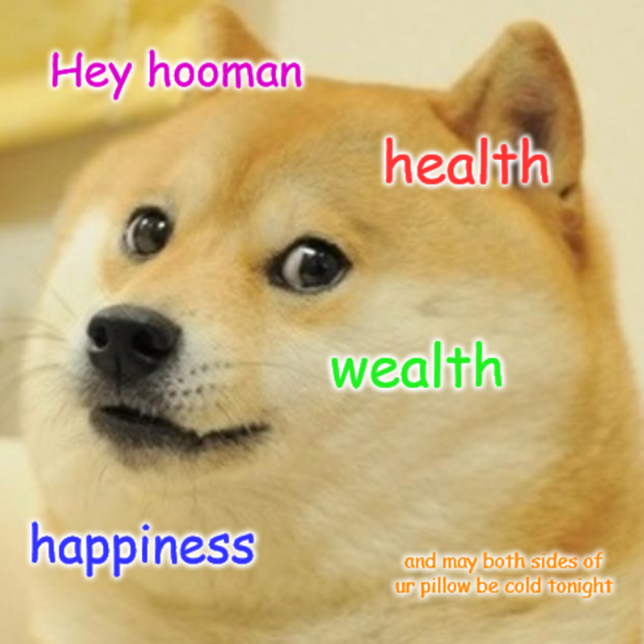 Health wealth and happiness