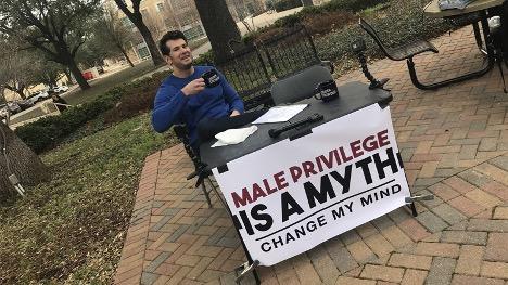 Male privilege meme