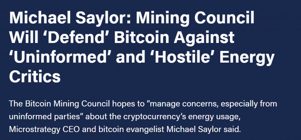 Michael Saylor article