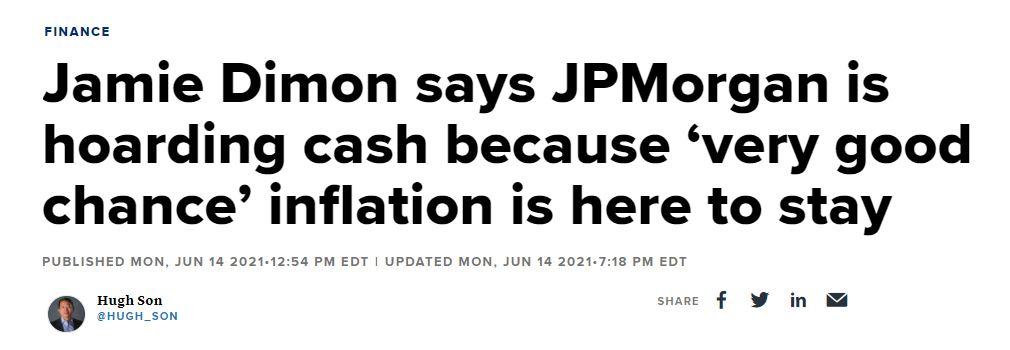 Jamie Dimon article