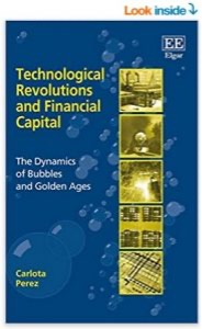 Technological revolutions and financial capital book cover