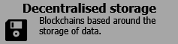 Decentralised storage