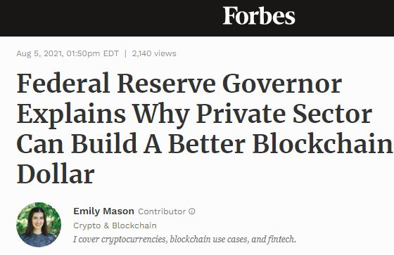 Federal reserve governor article