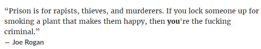 Joe Rogan quote