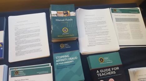 SEC informational booklets