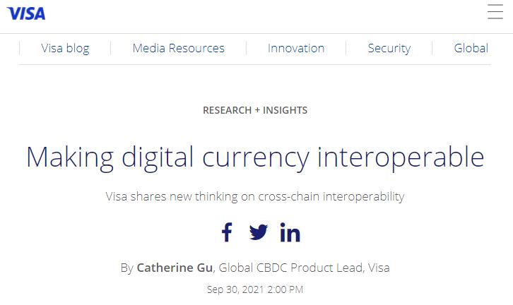 Making digital currency interoperable
